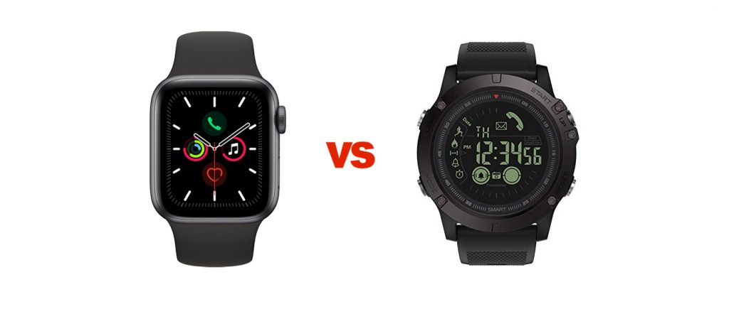 Apple Watch Series 5 vs T1 Tact Watch