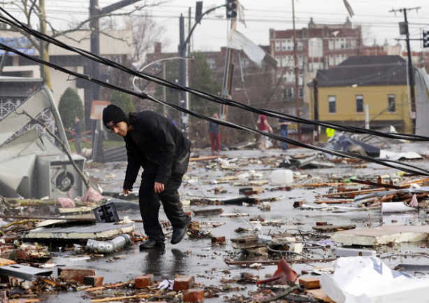 Massive Nashville Tornado Damage Costs State Millions, Public Adjusters Estimate