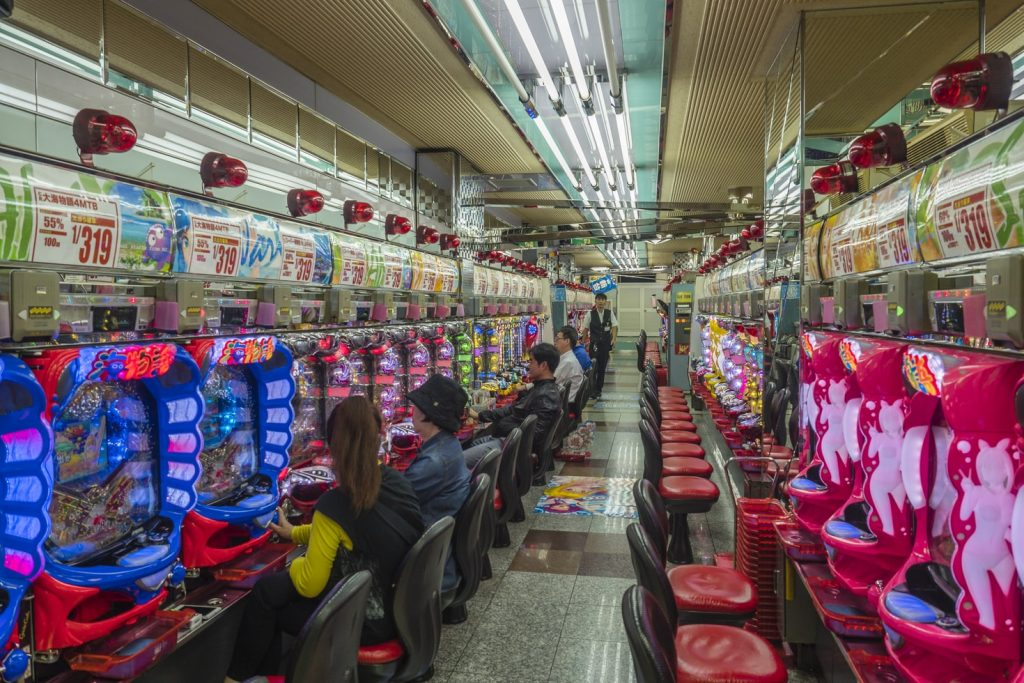 Slots at a casino